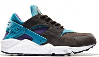Nike Air Huarache LE Dark Brown/Purple-Teal