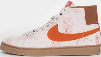 Nike Blazer Mid Premium SE Canvas SB Light Bone/Tuscan Rust-Ale Brown-Gum Light Brown