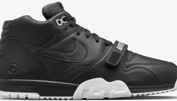 fragment design x NikeLab Air Trainer 1 Mid Premium Black/White