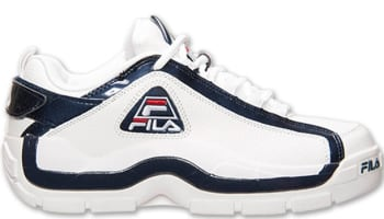 Fila 96 Low White/Fila Navy-Fila Red