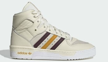 Eric Emanuel x Adidas Rivalry Hi Cream White/Maroon