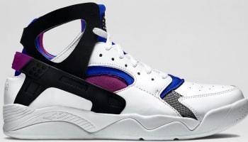 Nike Air Flight Huarache White/Black-Lyon Blue-Bold Berry