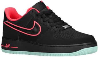 Nike Air Force 1 Low Black/Laser Crimson-Arctic Green