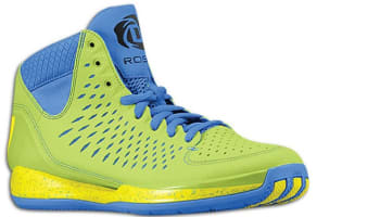 adidas Rose 3 Green/Lemon-Blue-Black