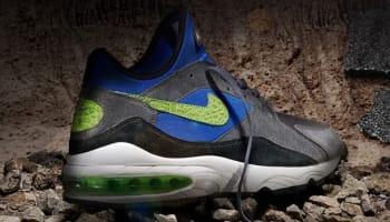 size? x Nike Air Max '93 Maximum Air Dark Grey/Flash Lime-Game Royal