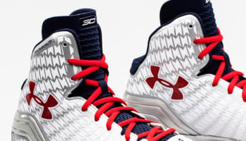 Under Armour Micro G Clutchfit Drive White/Red-Blue