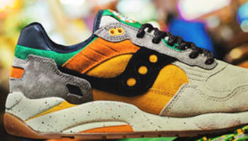 Saucony G9 Shadow 5 Tan/Orange-Green-Black