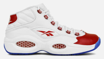 Reebok Question Mid White/Reebok Red-Ice