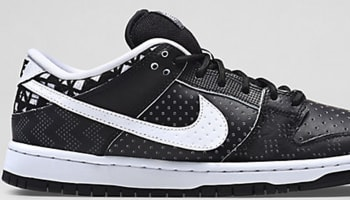 Nike Dunk Low Premium SB BHM Black/White-Black