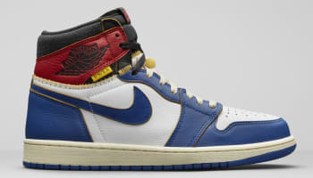Union LA x Air Jordan 1 Retro High NRG White/Storm Blue-Varsity Red