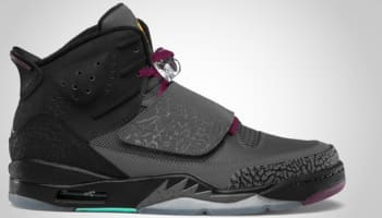 Jordan Son Of Mars Dark Grey/Metallic Gold-Bordeaux