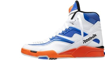 Reebok Twilight Zone Pump White/Tetra Blue-Blazing Orange-Black