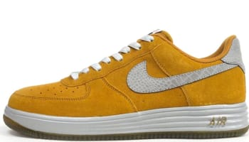 Nike Lunar Force 1 Low Reflect Gold Suede/Reflect Silver
