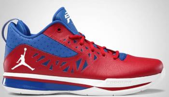 Jordan CP3.V Sport Red/White-Treasure Blue
