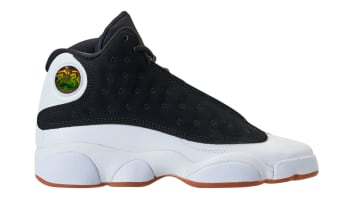 Air Jordan 13 Retro GG Black/Metallic Gold-White Gum Medium Brown