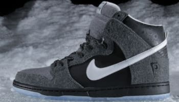 Nike Dunk High SB Premier SE Dark Charcoal/White-Light Graphite