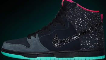 Nike Dunk High Premium SB Anthracite/Black-Hyper Pink-Crystal Mint