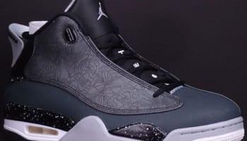 Jordan Dub Zero Black/Classic Charcoal-Wolf Grey-White