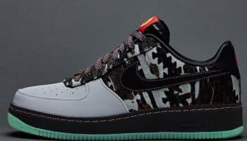 Nike Air Force 1 Low CMFT Premium YOTH QS Wolf Grey/Black-Anthracite-Green Mist