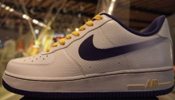 Nike Air Force 1 Low White/Court Purple-Tour Yellow