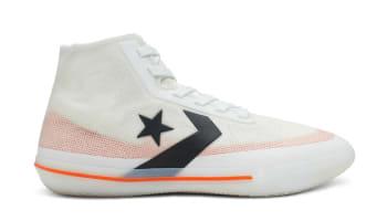 Converse All Star Pro BB White/Bold Mandarin/Black