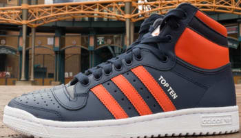 adidas Originals Top Ten Hi Navy/Orange