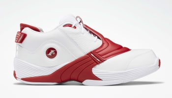 Reebok Answer V White/Power Red