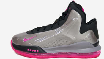 Nike Hyperflight Max Metallic Pewter/Pink Foil-Black