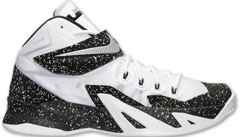 Nike Zoom Soldier VIII Premium White/Metallic Silver-Black