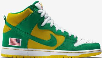 Anonymous x UnheardOf x Nike Dunk High Pro SB Oakland Athletics