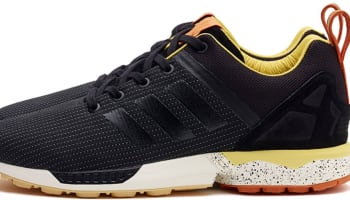 adidas Consortium ZX Flux Black/Yellow-Orange