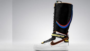 Nike Air Force 1 Boot Supreme RT Women's White/Black-Multi-Color