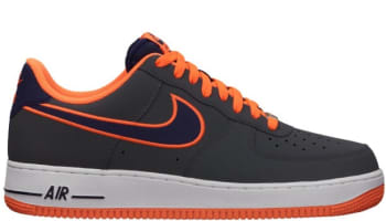 Nike Air Force 1 Low Dark Grey/Imperial Purple-Total Orange