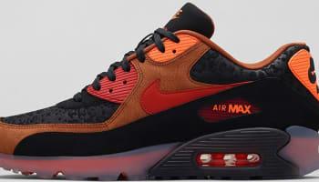 Nike Air Max '90 Ice HW QS Black/Cognac-Total Orange-Team Red