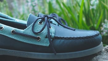 Sebago Spinnaker Navy/Light Blue