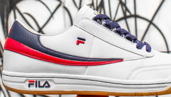 Fila Original Tennis White/Red-Navy
