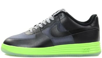 Nike Lunar Force 1 Fuse LTR Dark Grey/Black-Flash Lime