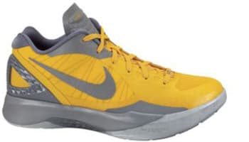 Nike Zoom Hyperdunk 2011 Low PE Del Sol/Metallic Silver-Cool Grey