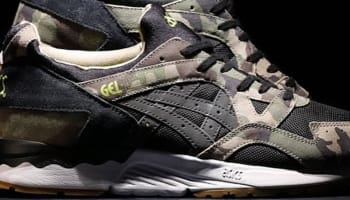 Asics Gel-Lyte V Black/Brown-Olive