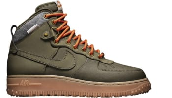 Nike Air Force 1 Duckboot Dark Loden/Dark Loden