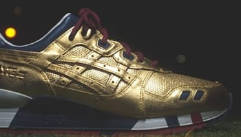 Asics Gel-Lyte V Gold/Navy-Red