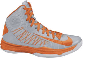Nike Lunar Hyperdunk 2012 Wolf Grey/Orange Blaze