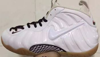 Nike Air Foamposite Pro White/White-Gym Red-Gorge Green