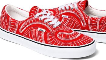 Vans Uptown Era Red/White