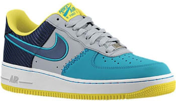 Nike Air Force 1 Low Wolf Grey/Midnight Navy-Tropical Teal
