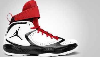 Air Jordan 2012 E White/Black-Varsity Red