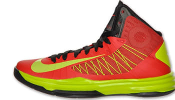Nike Lunar Hyperdunk 2012 University Red/Atomic Green-Black
