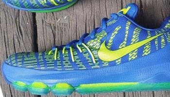 Nike KD 8 GS Hyper Cobalt/Volt-Green Strike-Vivid Purple-Bright Crimson