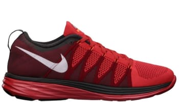 Nike Flyknit Lunar2 Light Crimson/White-Gym Red-Midnight Fog