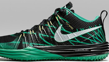 Nike Lunar TR1 Metallic Silver/Kelly Green-Yellow Strike-Black